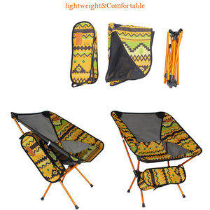 Image 3 - Ultralight Moon Chairs Portable Garden Al Chair Fishing The Director Seat Camping Removable Folding Furniture Indian Armchair
