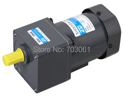 60W Micro AC induction gear motor AC gear reduction motors Home Improvement Electrical Equipment Supplies Accessories AC Motor dental endodontic root canal endo motor wireless reciprocating 16 1 reduction