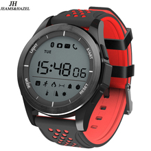 hot deal buy luminous smart watch bracelet ip68 waterproof smartwatch outdoor mode fitness tracker reminder wearable devices f3