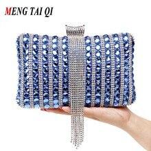 Frauen Handtaschen Und Geldbörsen Mit Ketten Umhängetaschen Damen Clutch Geldbörse Quaste Kristall Luxus Marke Diamant Abendtaschen 3