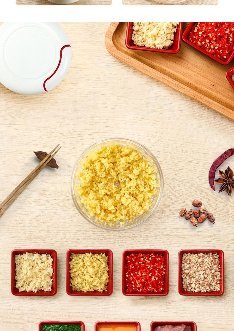 HTB1Mydlarj1gK0jSZFuq6ArHpXa9 Mini 170ML Powerful Meat Grinder Hand-power Food Chopper Mincer Mixer Blender to Chop Meat Fruit Vegetable Nuts Shredders