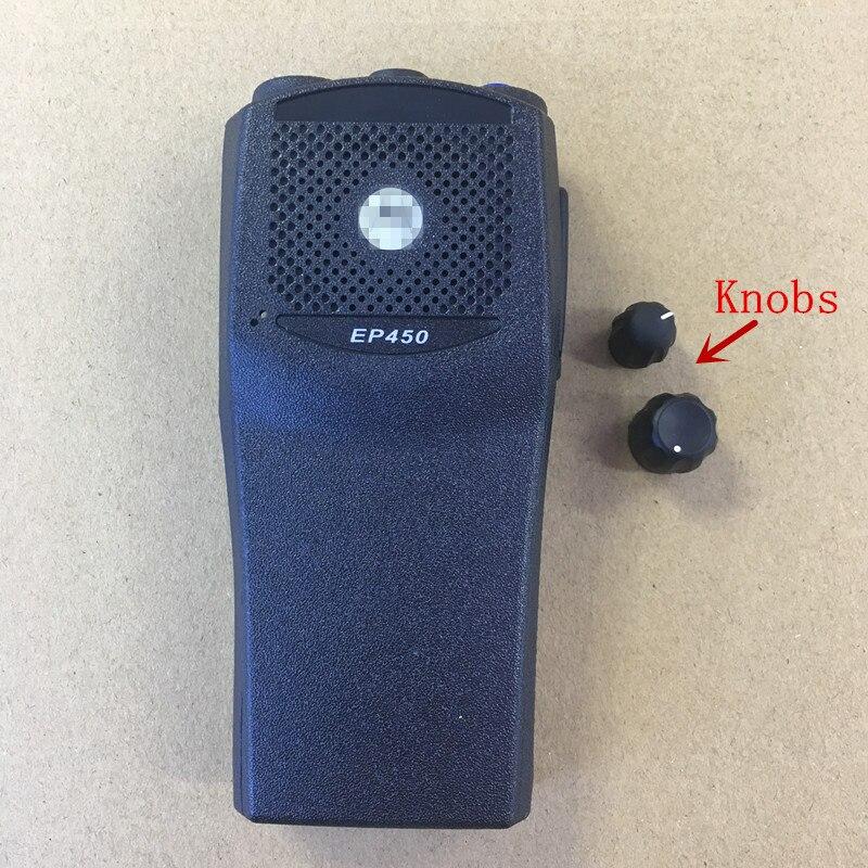 bilder für Honghuismart das gehäuse schale vorne fall ersatz für motorola ep450 walkie talkie funkgeräte mit die knöpfe