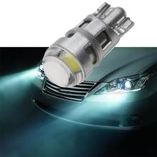 VODOOL Car Light T10 2W 12V LED COB Car Interior Panel Map Lights Reading Bulb Dome Lamp Car Accessories High Quality(China)