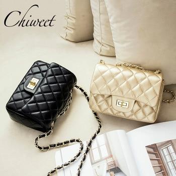 Famous Brand Leather Messenger Bags Luxury Shoulder Bag Quilted Designer Handbags Women Pink Bag Vintage Small Crossbody Bags