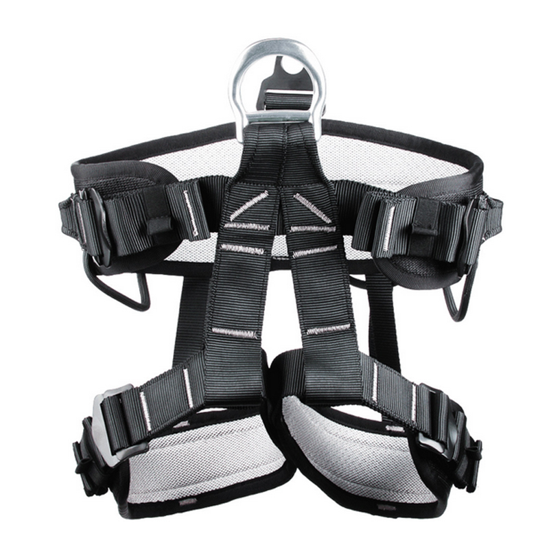 P60 CE certification professional rescue climbing cave outdoor high-altitude operation of the safety belt belts insurance pair of safety adjustable high impact resistance outdoor kneepad