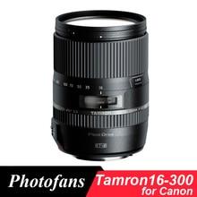 Tamron 16-300mm f/3.5-6.3 di ii vc pzd tamron macro 16-300 lente para canon 750D 1300D 760D 800D 60D 70D 700D T5i T3i T5 T6 T6s