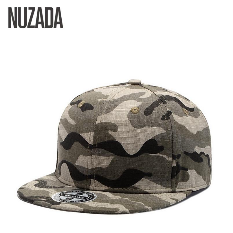 NUZADA Bone Hip Hop Baseball Caps Cotton Snapback Hats