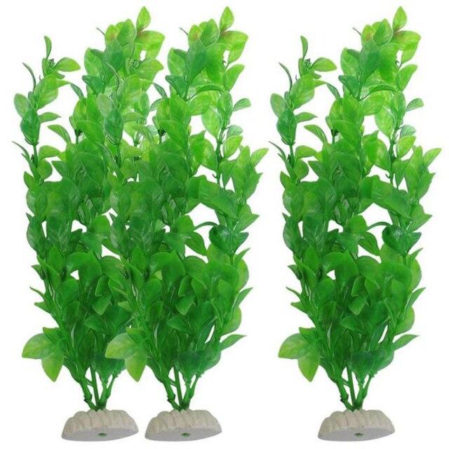 3 piece acquario piante artificiali acquario piante for Piante finte per acquario
