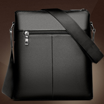 New Fashion PU Leather Men Messenger Casual Bag 4