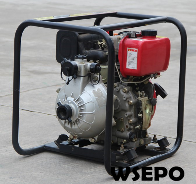 1.5inch/2inch/3inch Inlet Available High Pressure/High Lift  Diesel Engine Self Priming Water Pump Set Applied for Fire/Garden