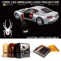 Car Door Courtesy Welcome Light Laser Can Am Spyder Bike Spider GOBO Logo Light Welcome Ghost