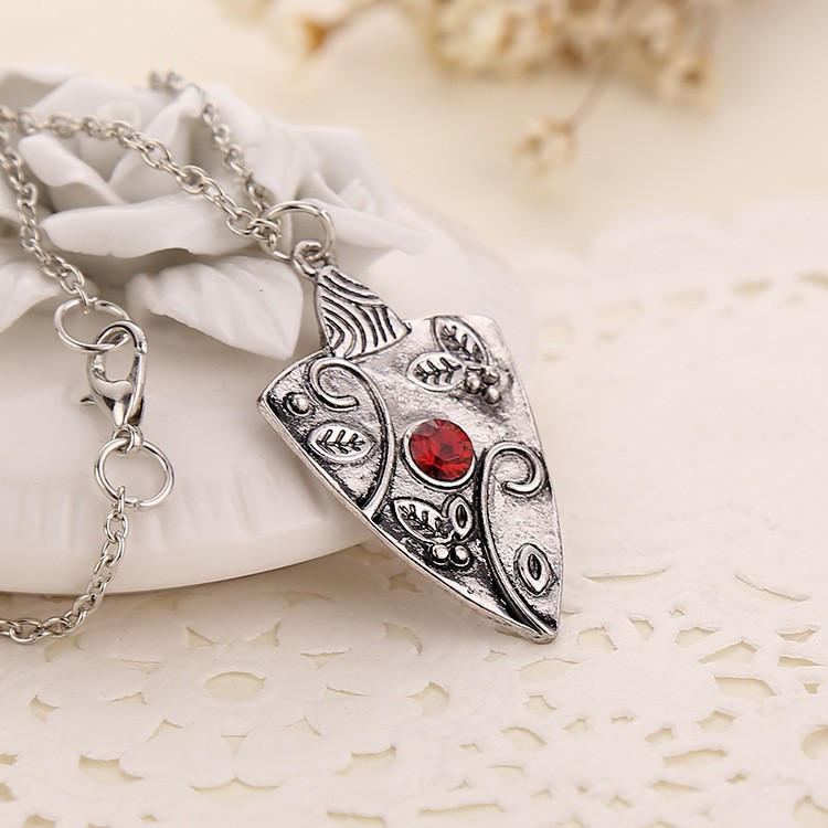 Vampire Diaries Bonnie's Garnet Necklace