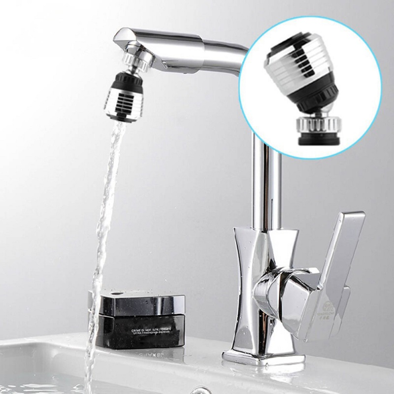 Kitchen Faucet 360 Rotate Water Bubbler Saving Tap Aerator Diffuser Faucet Filter Filter Nozzle Connector Adapter