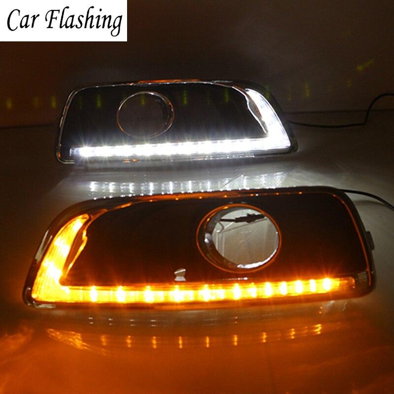 Car Flashing Drl For Chevrolet Chevy Malibu 2011 2012 2013