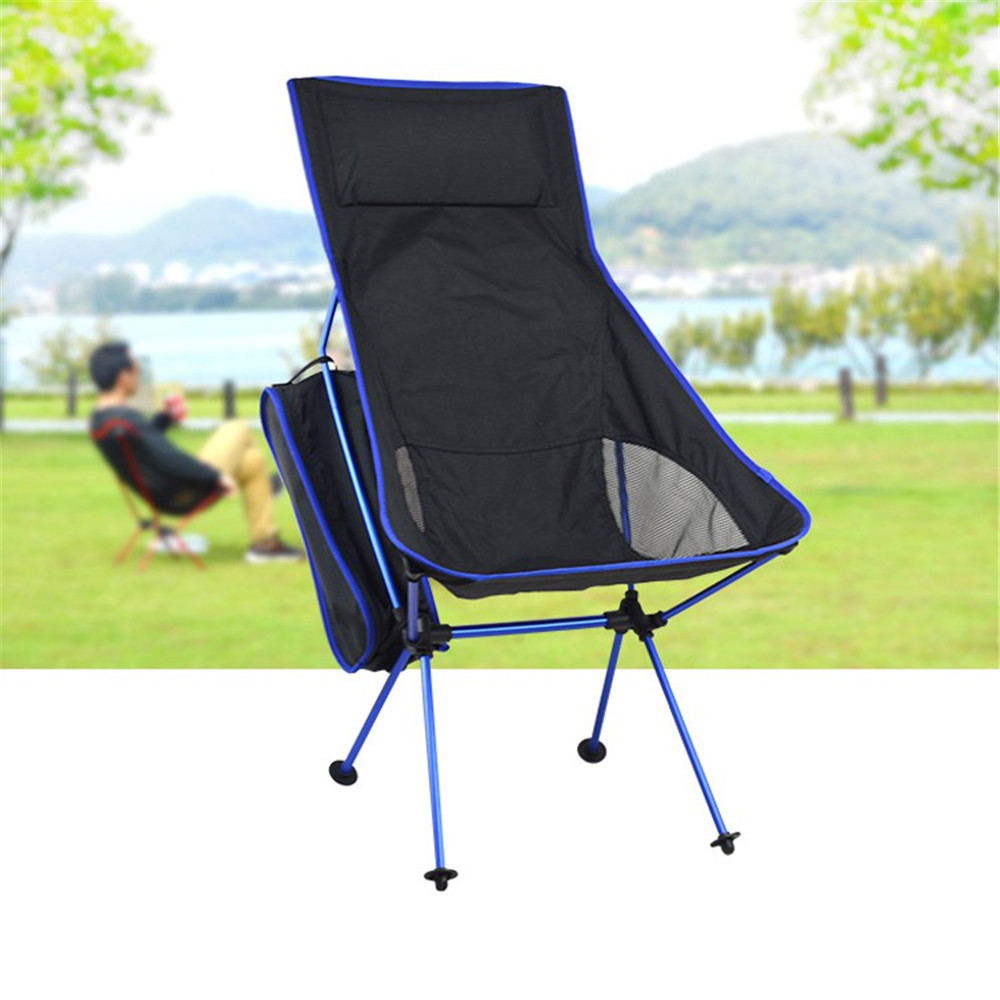Unique Detachable Camping Table Aluminium Alloy Breathable7050 Extended Chair Folding Fishing Chair For Outdoor Activities alluminum alloy magic folding table bronze color magic tricks illusions stage mentalism necessity for magician accessories