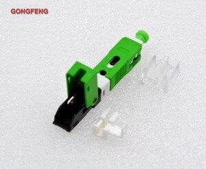 Image 3 - GONGFENG conector rápido en frío de fibra óptica, FTTH SC, modo único UPC/APC, venta al por mayor especial, 100 Uds.