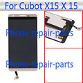 5.5 pulgadas de Oro Pantalla LCD Full + Pantalla Táctil de Cristal Digitalizador Asamblea reemplazo Para Cubot X15 X 15 Dual SIM LTE El Envío Libre