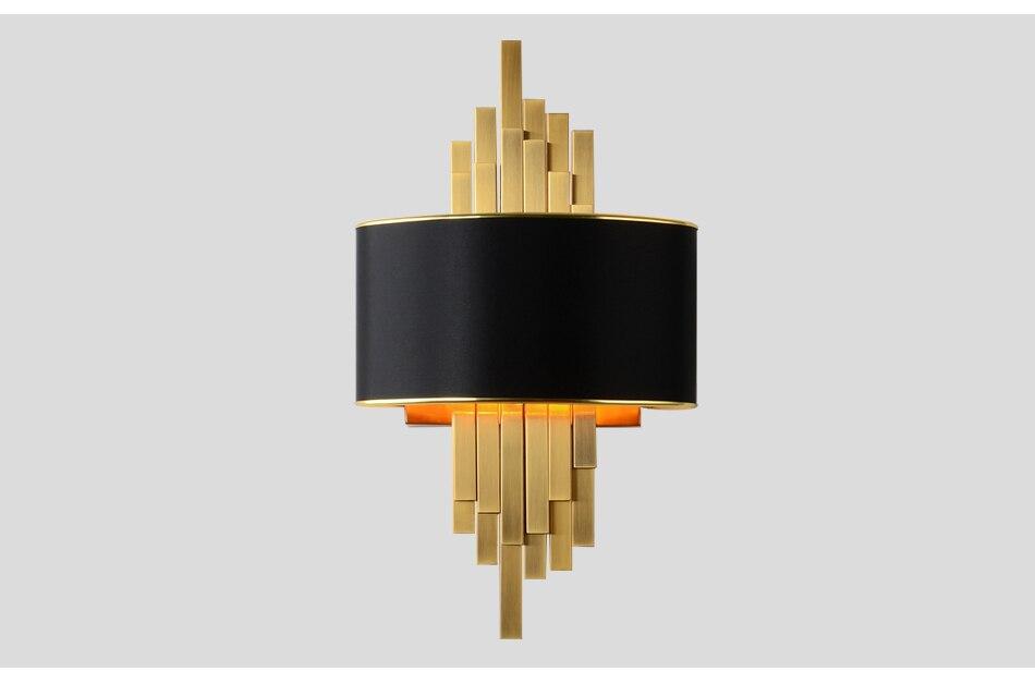Acquista applique da parete oro apparecchi di illuminazione camera