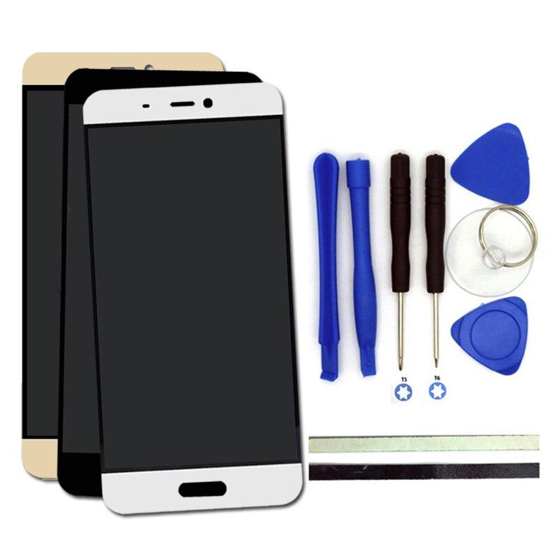 imágenes para 100% nuevo para xiaomi mi5 pro prime pantalla lcd táctil del digitizador reemplazo de la pantalla para xiaomi mi5 mi 5 piezas del teléfono con el envío herramientas