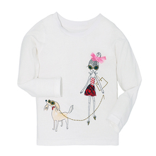 100% Cotton Girls Long Sleeve T-Shirt