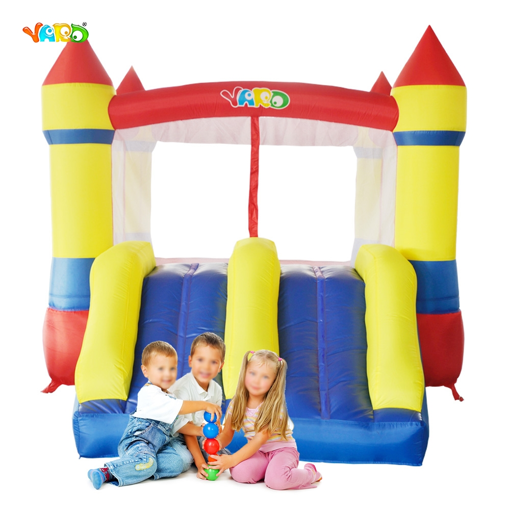 3b01ea329 YARD Jumping Castle Inflatable Bouncy 3.7x2.6x2.1m Outdoors ...