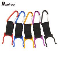 5Pcs Outdoor Sports Camping Hiking Survival Traveling Key Carabiner Water Bottle Hook Holder Clip