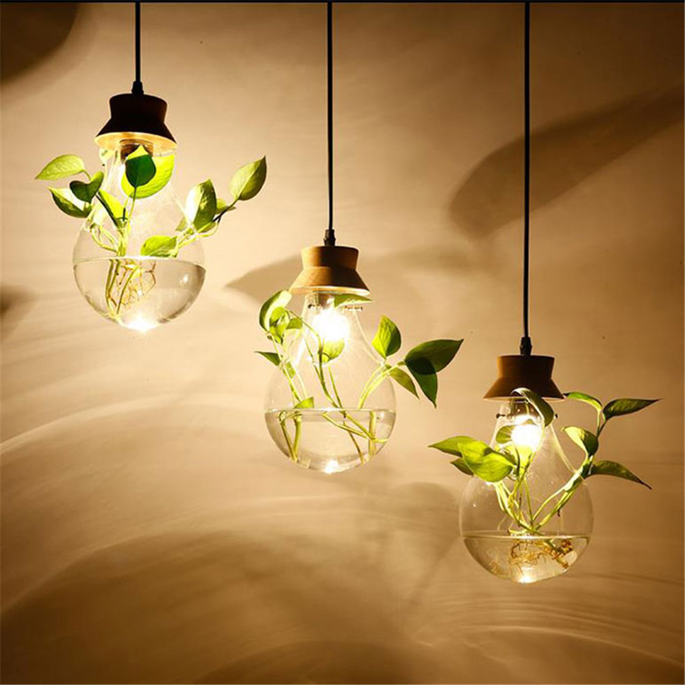 Modern water plant chandelier creative wood glass lustres living room cafe clothing store decorative chandeliers lamparas de tec modern water plant chandelier creative wood glass lustres living room cafe clothing store decorative chandeliers lamparas de tec
