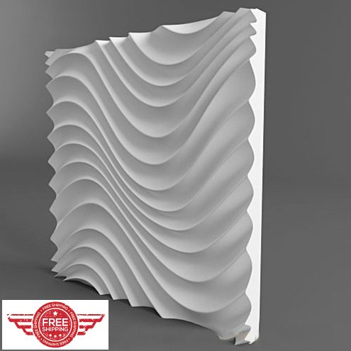 Plastic Molds Plastic forms, plastic 3D decorative wall panels ...
