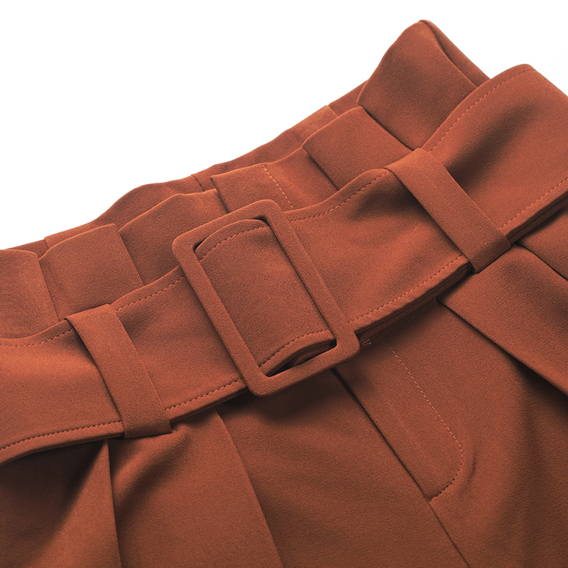 Cintura Tamaño Red Caramelo 2019 Mujer De Cinturón Primavera negro Harajuku Ancha Más Pantalones Flor Otoño Y Ancho Nueva Largos Color Pierna Alta AXSRXUqx