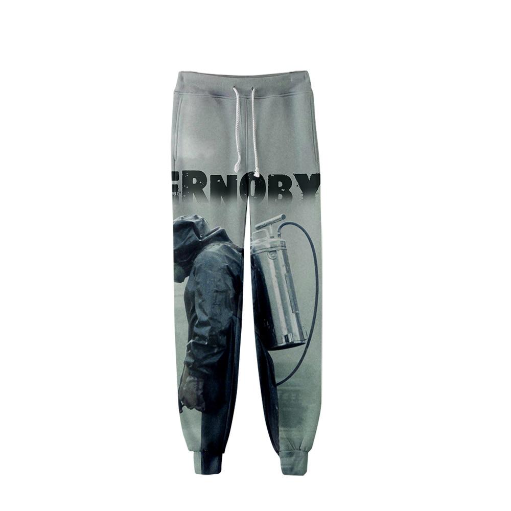 2019 Chernobyl Pants Men Hip Hop Pants Trousers Kpop Fashion Casual High Quality Casual Warm Pants Slim Post Malone Pants