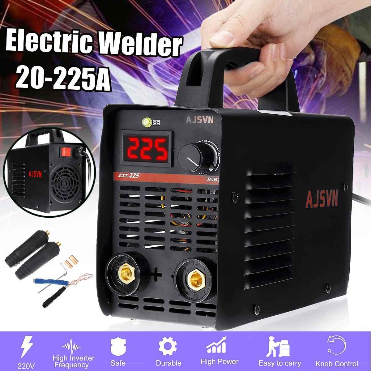 220 V 4200 W 20-225A Mini MMA de inversor IGBT soldadura de arco eléctrico soldador máquina-herramienta