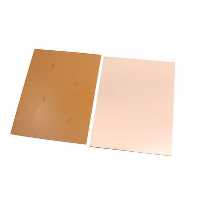 Copper Tone Prototyping Single Side PCB Board 20cm x 15cm Thickness 1.5mm 5pcs copper tone single side pcb printed circuit board stripboard 3 5 x 2 8