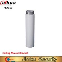 Dahua suporte de teto pfa112 material de alumínio câmera cctv acessório puro & design integrado