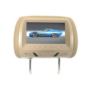 Image 2 - Universal 7 นิ้ว TFT LED หน้าจอ MP5 player Headrest monitor สนับสนุน AV/USB/SD/FM /ลำโพง/กล้อง
