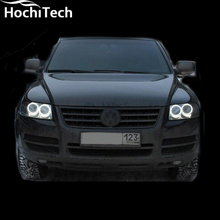 Hot style SMD angel eyes super bright white led halo light kit for Volkswagen VW Touareg 2003 2004 2005 2006