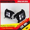 Auto Clud Car Styling For Sorento LED DRL For Sorento Led Fog Lamps Daytime Running Light