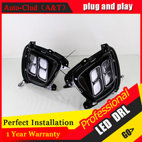 Auto Clud Car Styling For Sorento LED DRL For Sorento Led Fog Lamps Daytime Running Light