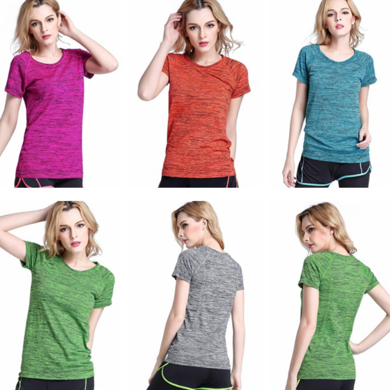 e7f32709 G34 T shirt Compression Tights Women T shirt Dry Quick Sleeve T shirts  Fitness Women Clothes Hot-in T-Shirts from Women's Clothing on  Aliexpress.com ...