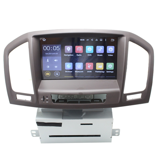 HD 1024*600 Android 5.1 car multimedia player for Opel Insignia with stereo steer wheel control map 3G WIFI TMPS
