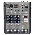 Freeboss RMV6 2 Моно + 2 стерео 6 каналов профессиональный 99 DSP Эффекты USB audio mixing console