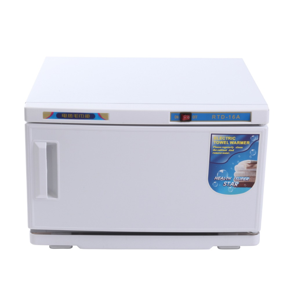 (Доставка из ЕС) 16L УФ полотенце для лица стерилизатор шкаф дезинфекции горячие полотенца теплее машина спа
