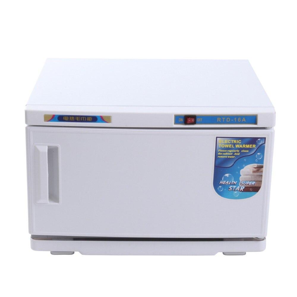 (Navio da UE) 16L UV Facial Toalha Esterilizador Máquina de Desinfecção Gabinete Toalha Quente Mais Quente Spa