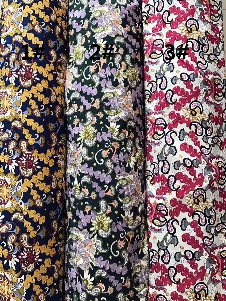 150 cm breite Vier seiten elastische stoff paisley muster können ...