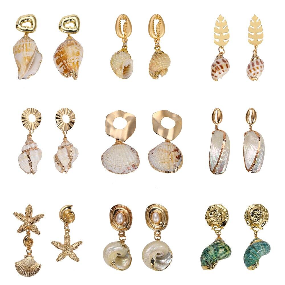 Aliexpress Com Buy Jeanne Love 2019 New Arrival Best: Aliexpress.com : Buy 2019 New Sea Shell Conch Earrings For