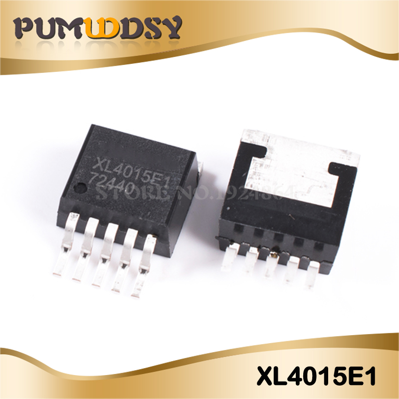 5PCS XL4015E1 TO263-5 XL4015 TO263 New And Original IC Free Shipping IC
