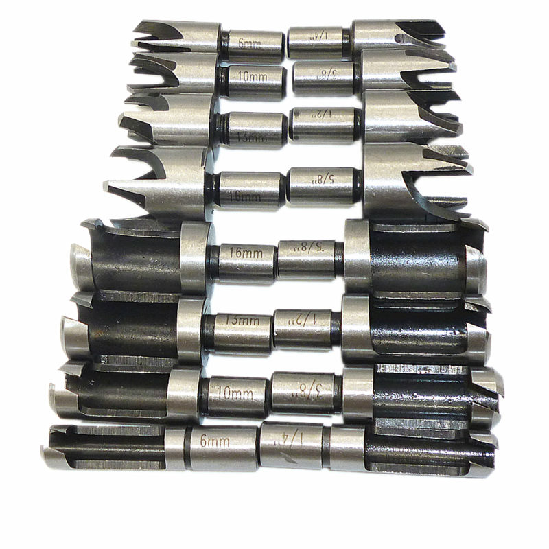 New Core Drill Drill Bit Spike Cutters Dowel And Peg For Joinery And Carpentry And Diy Project Drill Bits Hand & Power Tool Accessories