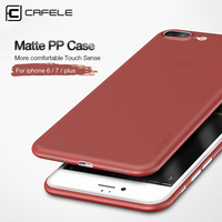 CAFELE New Ultra Thin Unique Lucky Red Case for iphone6/6s/6 Plus/6s Plus Matte Slim PP Cover for iphone7/7plus Light Back Shell