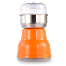 Home Kitchen Mini Stainless Steel Blade Coffee Nuts Grains Bean Grinding Multifunctional Electric Coffee Grinder(Eu Plug) цена и фото