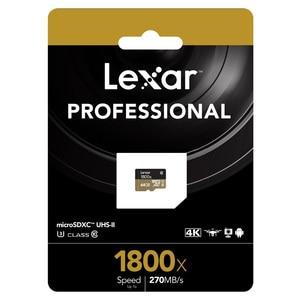 Image 5 - Lexar memoria tarjeta 마이크로 sd 카드 270 메가바이트/초 1800x64 gb microsd tf 플래시 메모리 카드 UHS II sdxc u3 드론 스포츠 캠코더 용