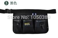 Waterproof Tool Belt Waist Apron Bags With Reflective Strip KTV Waiter Road Street Tools Holders Organizer